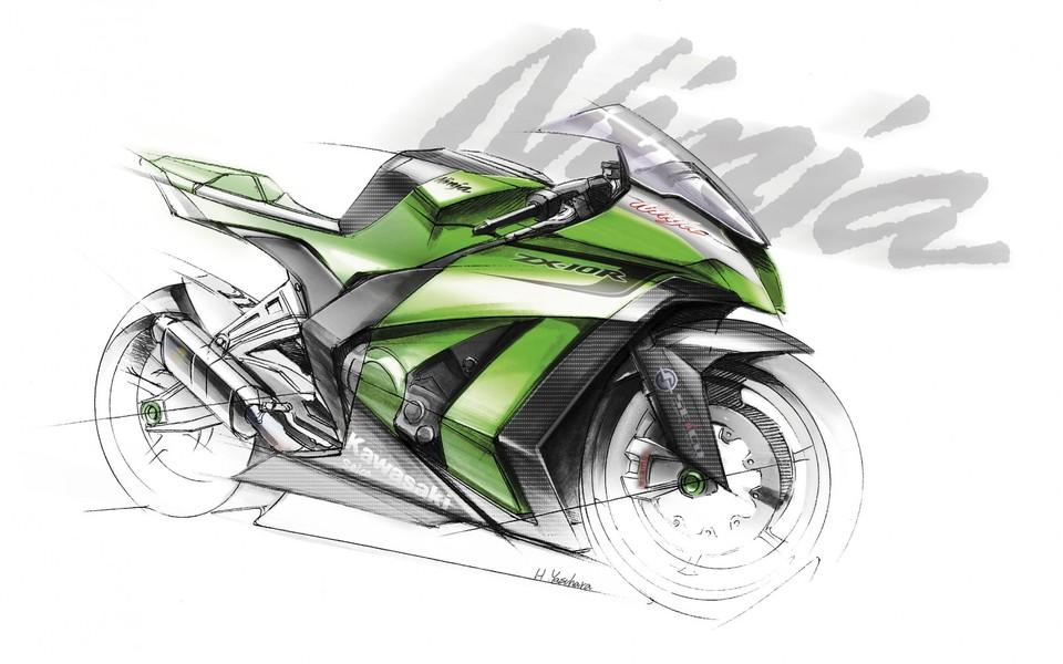 川崎摩托车高清壁纸
