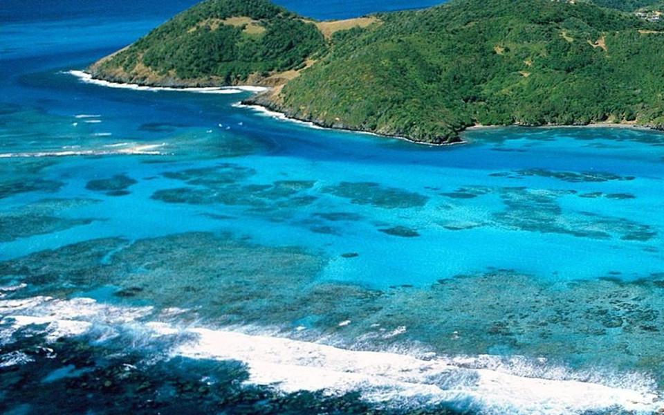 ipad壁纸 海滩壁纸 加勒比海风景ipad壁纸下载
