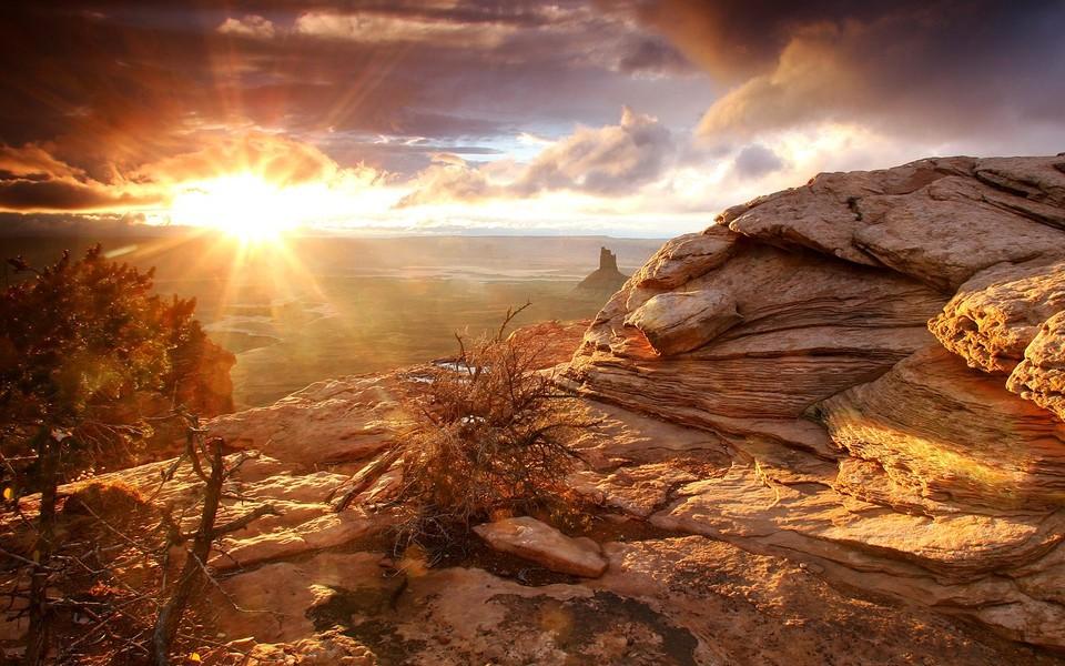 自然风景壁纸 高对比度:精美高清风光壁纸下载
