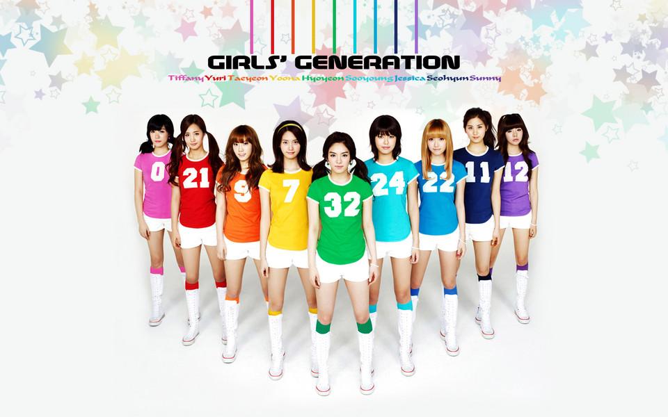 韩国少女时代组合明星壁纸下载