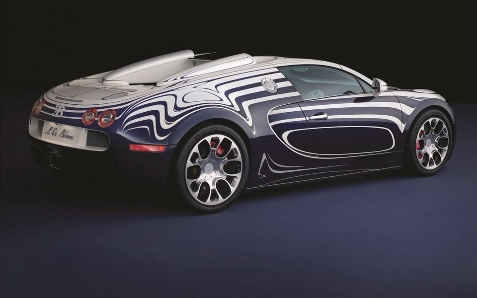 布加迪威龙bugatti veyron开篷版跑车宽屏壁纸