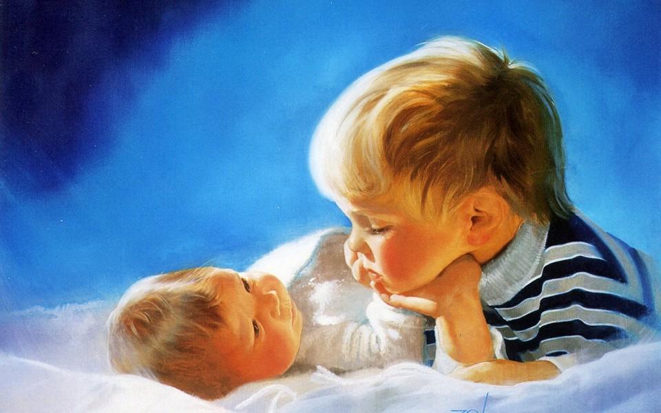 ipad壁纸 可爱宝宝壁纸