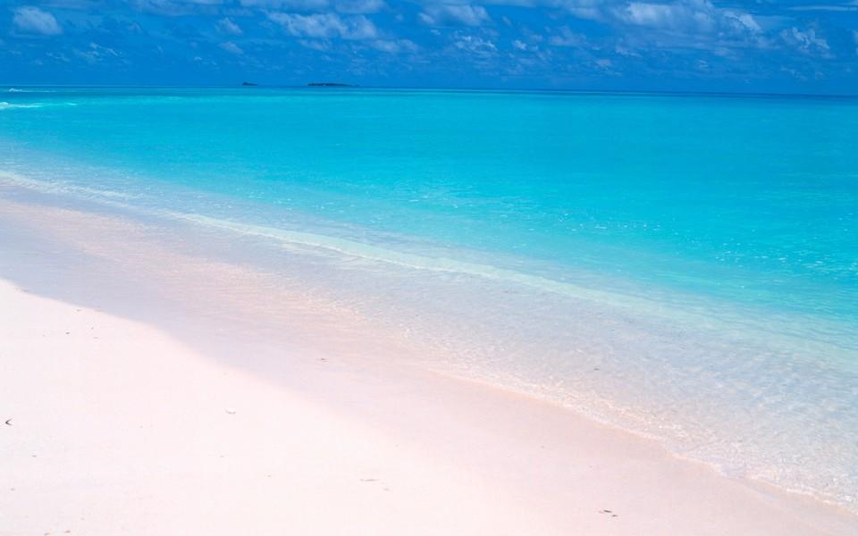 电脑壁纸 海滩壁纸 马尔代夫沙滩桌面壁纸下载