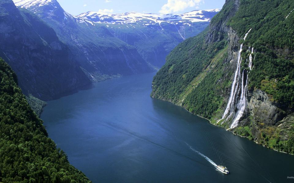 电脑壁纸 风景壁纸 挪威自然美景高清壁纸下载