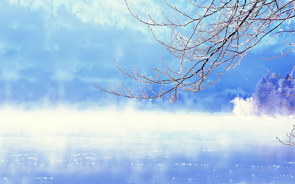 电脑壁纸 雪景壁纸 唯美冬季雪景高清桌面壁纸下载
