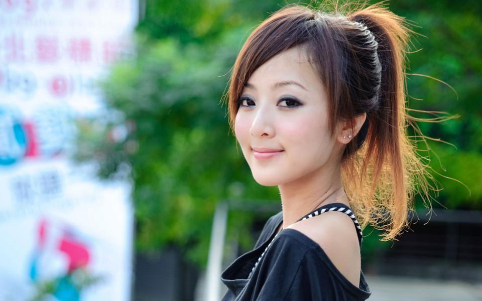 电脑壁纸 清纯美女壁纸 台湾果子妹妹可爱高清壁纸下载