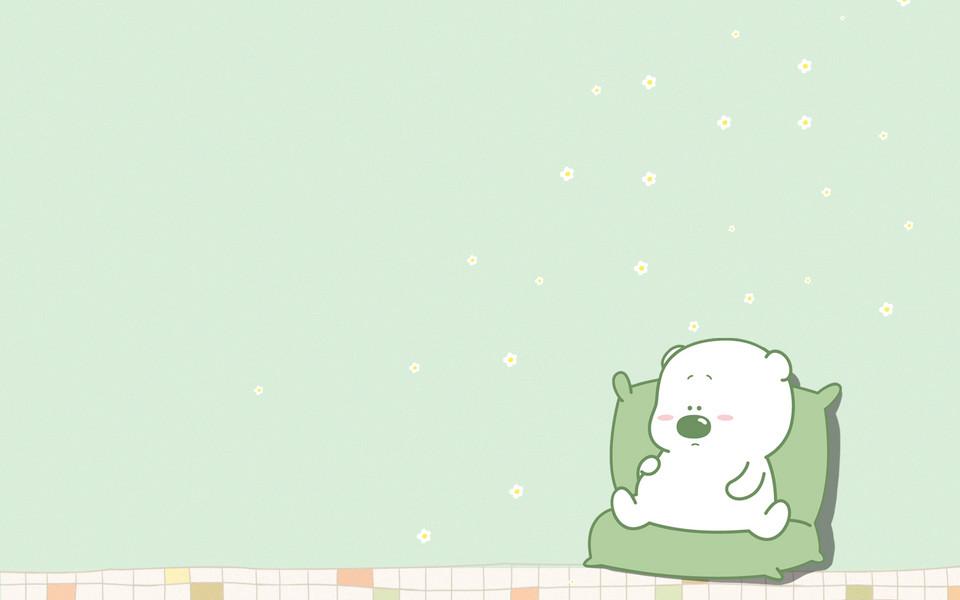 小囧熊超可爱平板电脑壁纸(三)