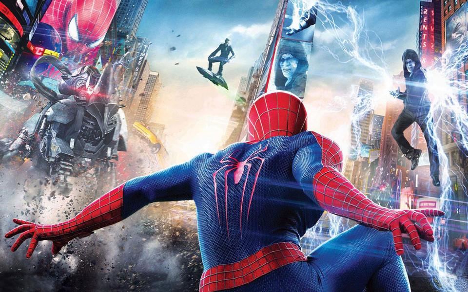 电脑壁纸 影视壁纸 《超凡蜘蛛侠2》剧照高清壁纸下载