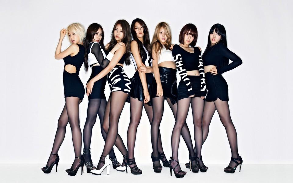 韩国美女组合高清壁纸图片