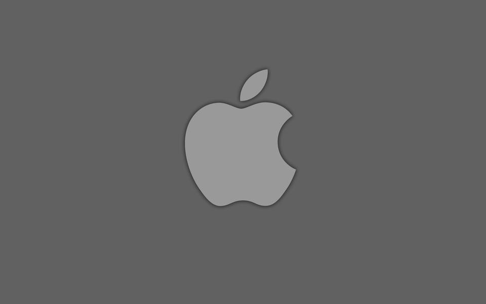 苹果logo桌面壁纸