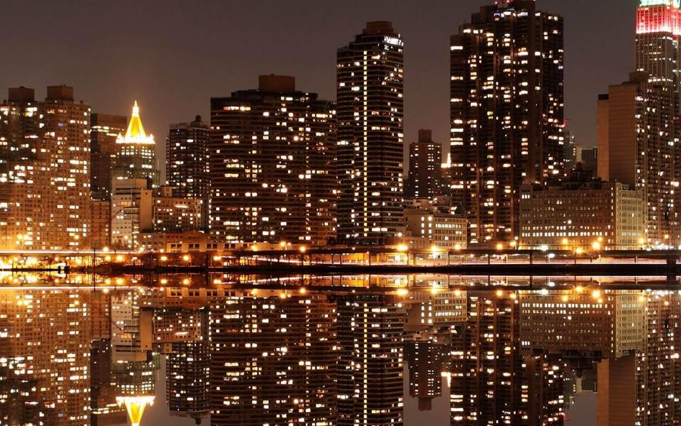 平板电脑城市风景壁纸