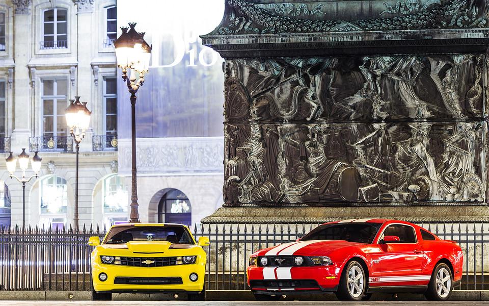 野马汽车高清壁纸图片