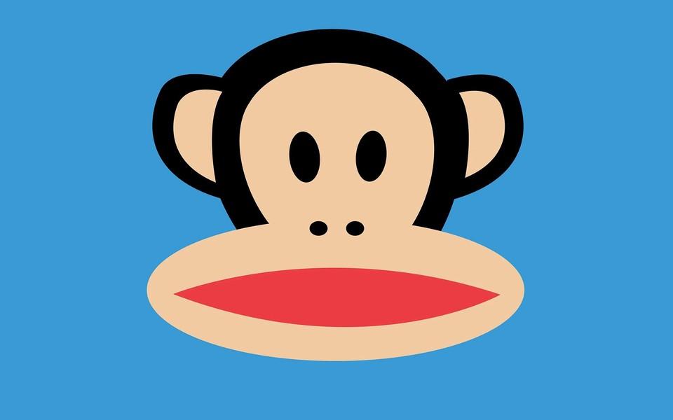 嘻哈猴可爱卡通壁纸