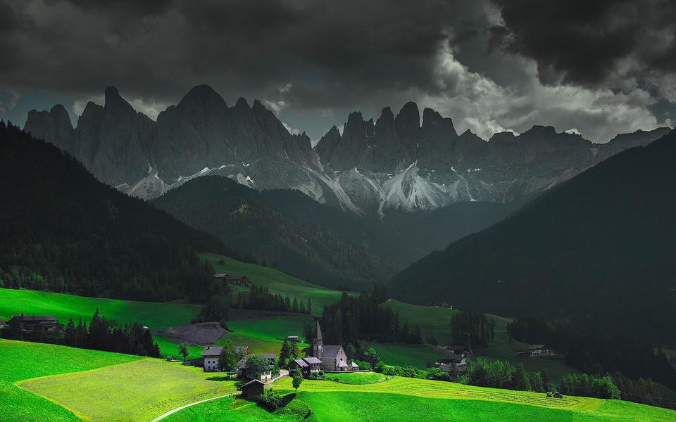 笔记本壁纸 自然风景壁纸 绿色风光护眼壁纸下载