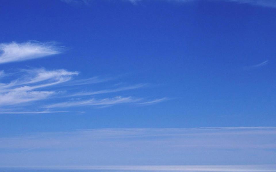 蓝天白云高清贴图_图片素材