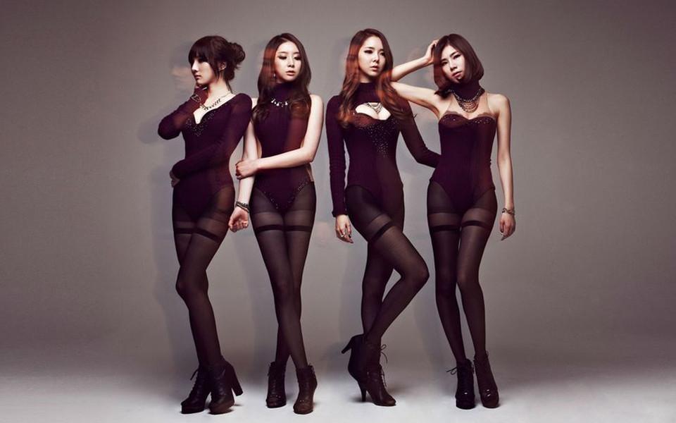 电脑壁纸 韩国明星壁纸 韩国美女组合高清壁纸1080p下载