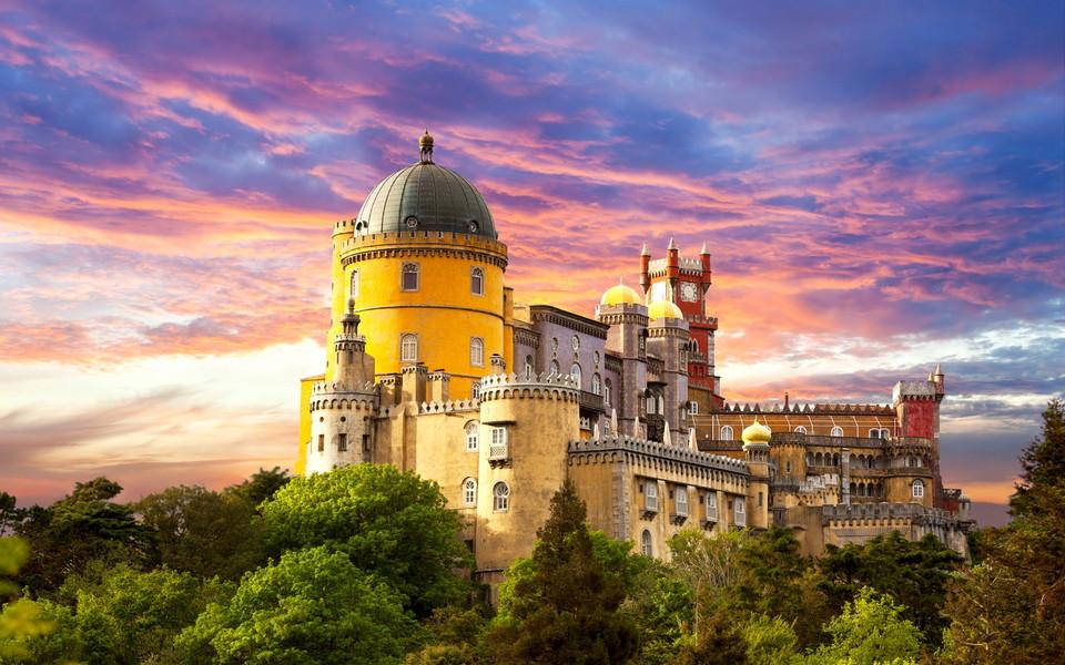 高清浪漫城堡壁纸下载
