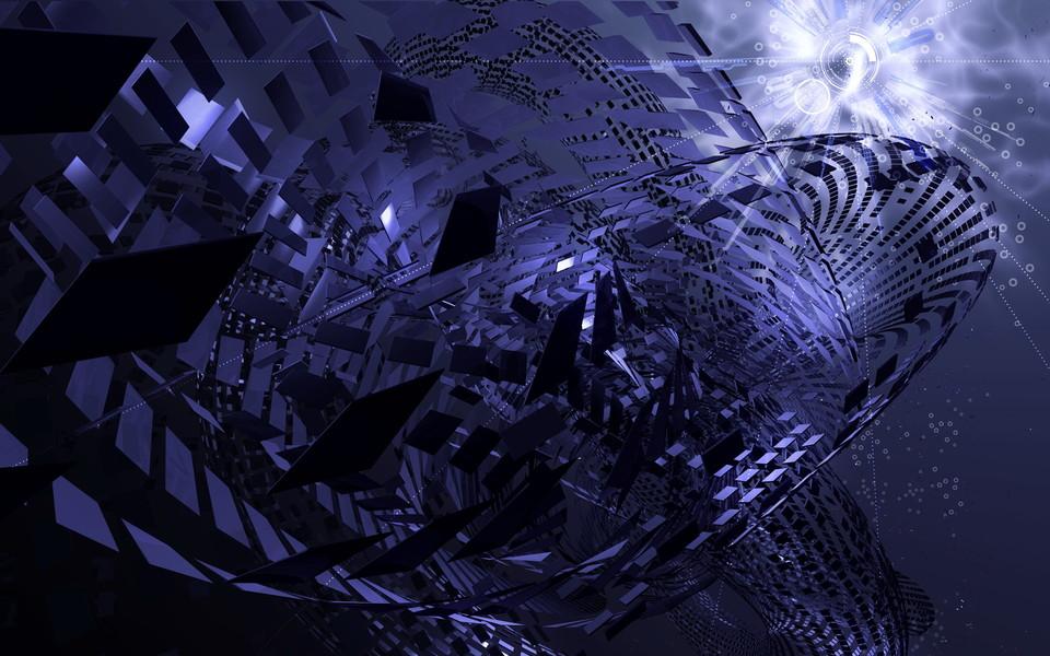电脑壁纸 艺术壁纸 暗色抽象艺术桌面壁纸下载
