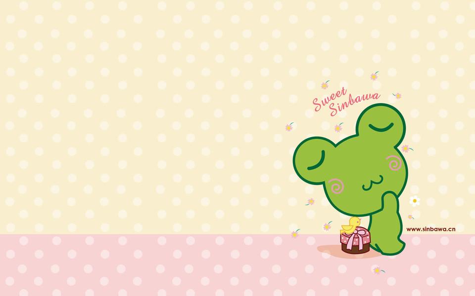 sinbawa夏日可爱卡通宽屏壁纸下载
